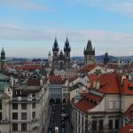 A Praga, con il naso all'insù